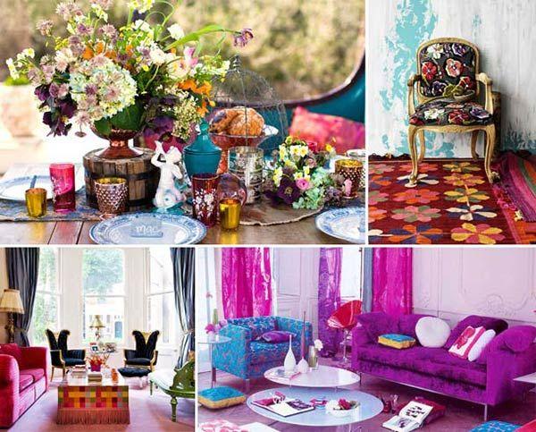 Gipsy, kitsch, hippie o bohémien: scegliere lo stile della casa #homedecor #design
