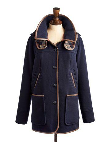 Auxillary Blue Women's Hooded Coat #joules #christmas #wishlist