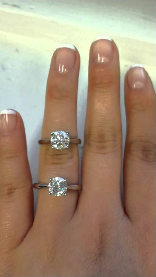 Diamond Versus FB Moissanite (Same Style Ring) -- maybe I'd like to replace the stones on my ring with moissanite instead?