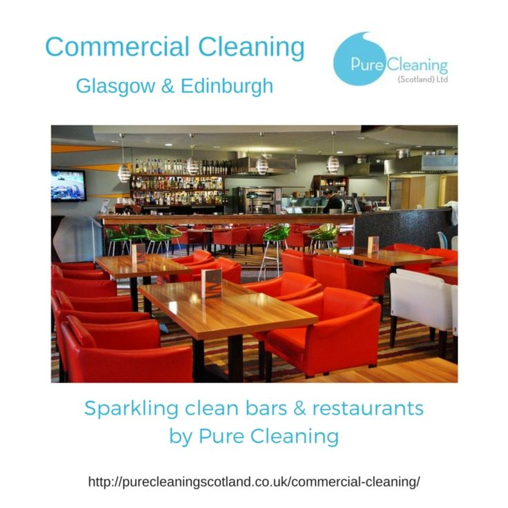 We have experienced staff ready and able to clean your bar or restaurant at a time that suits your business.  Cleaning services are available in Glasgow, Edinburgh and across the Central Belt of Scotland.