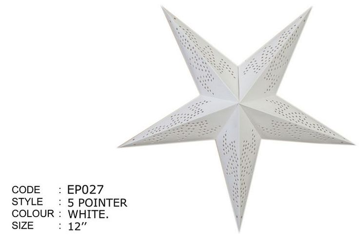 Encore Exports : Paper Stars, Punched Stars, Paper Lined Stars, Decorative Stars, Multipointer Stars, Mini Stars, Paper Zen, Stars with lights, Lit Stars
