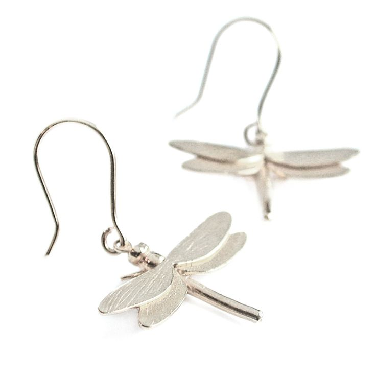 Dragonfly Hook Earrings, Alex Monroe