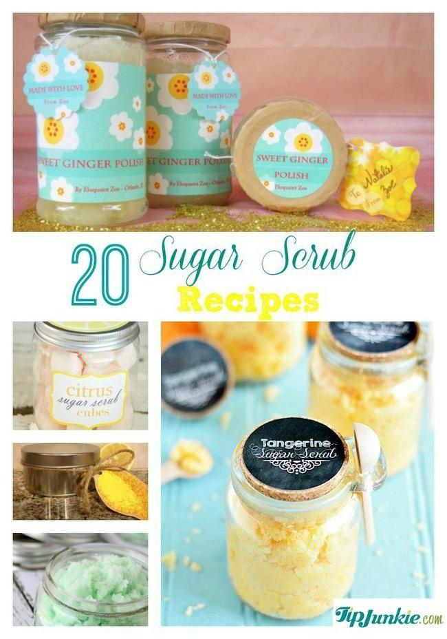 20 Sugar Scrub Recipes