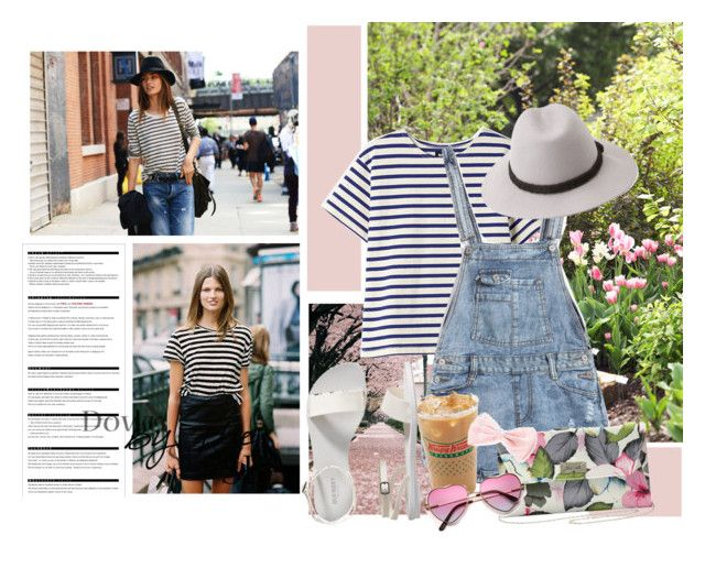 """Ahoy, There! Nautical Style"" by victorialuchitskaya ❤ liked on Polyvore featuring NLST, M&Co, Forever 21, Arche, Old Navy, women's clothing, women, female, woman and misses"