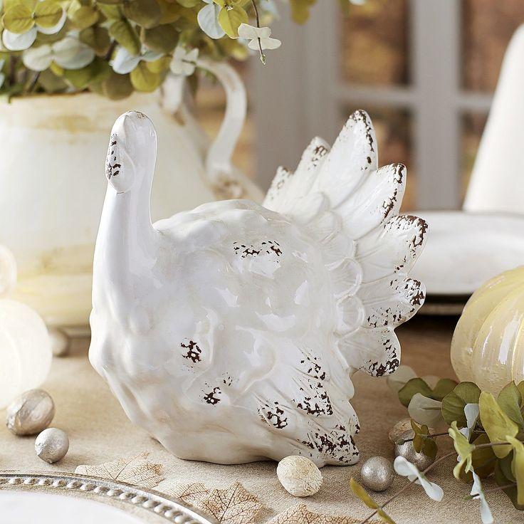 Thanksgiving Turkey  Antique White  Pier 1 Imports