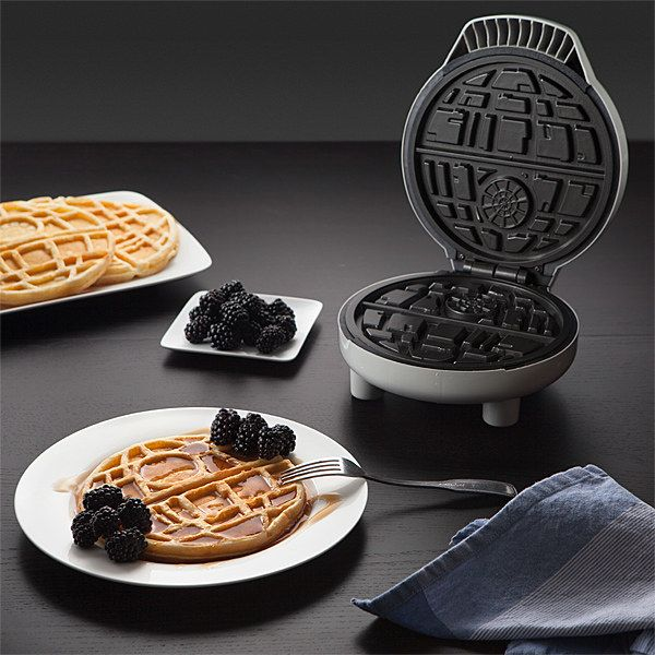 This Star Wars Death Star waffle maker that will give you the best damn waffles of your life.