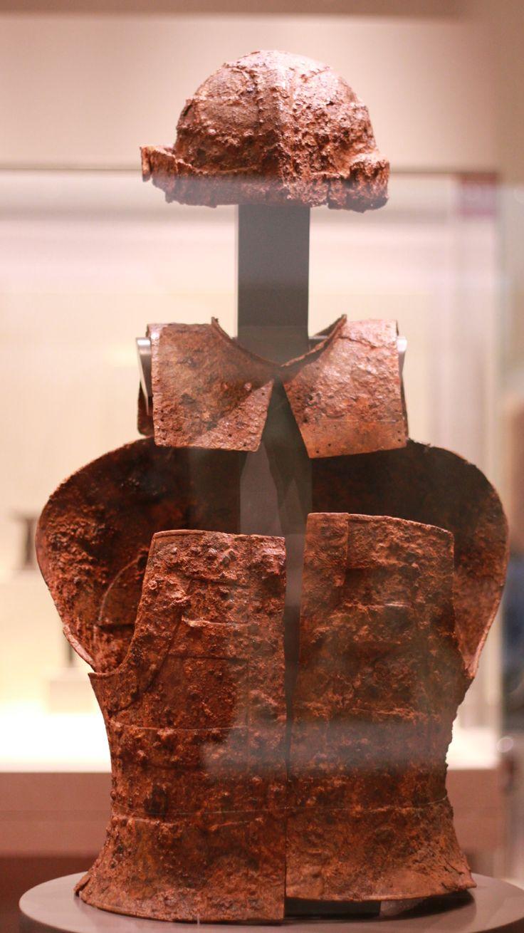 bronze armor and helmet of ancient Korea