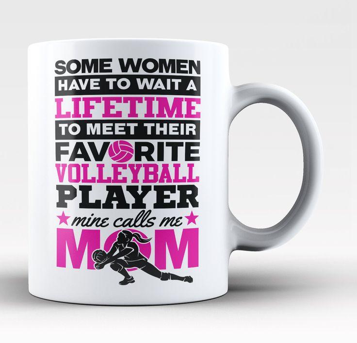 Favorite Volleyball Player - Mine Calls Me Mom - Mug