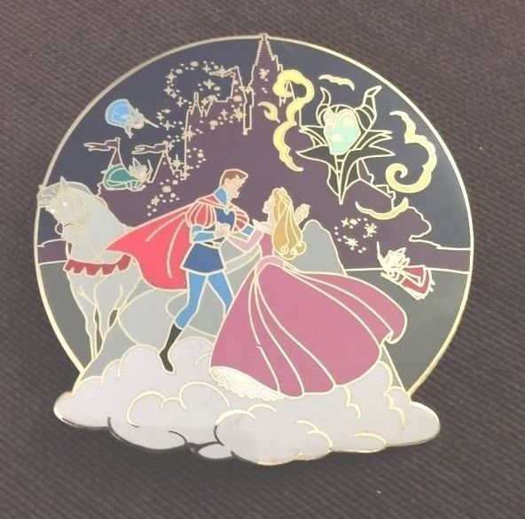 Disney Auctions Sleeping Beauty Cast Pin JUMBO LE Limited Edition 100