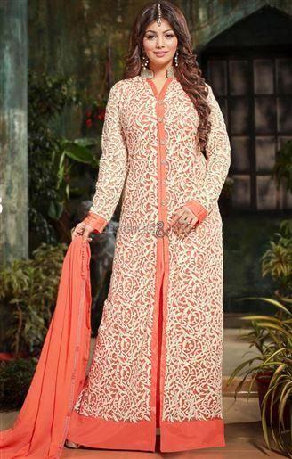 Indian Bollywood Dress Online Modeled By Ayesha Takia http://www.designersandyou.com/dresses/bollywood-dresses #Indian #BollyWood #Dress #Online #Model #Ayesha #Takia #Floor #Length