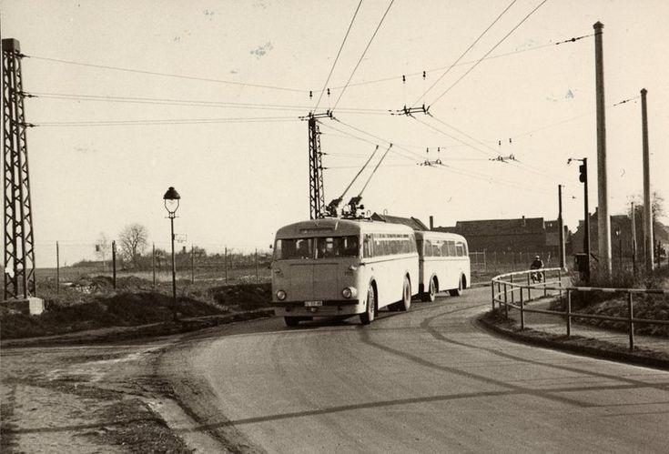 Rund um das Dorf Marzahn 1956 (bei Berlin)