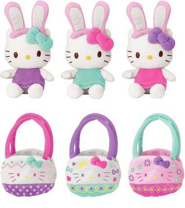 Hello Kitty Mascot Plush: Easter Bunny with Basket (Random Style) http://www.easterdepot.com/hello-kitty-mascot-plush-easter-bunny-with-basket-random-style/ #easter  Hello Kitty Mascot Plush: Easter Bunny with Basket (Random Style). You will receive 1 of 3 random styles shown in image. Hello Kitty Mascot Plush: Easter Bunny with Basket (Random Style) Hello Kitty Mascot Plush: Easter Bunny with Basket (Random Style) Measures: H 5˝x L 4˝x W 4˝ Hello Kitty Mascot Plush: Easter Bunny wit..