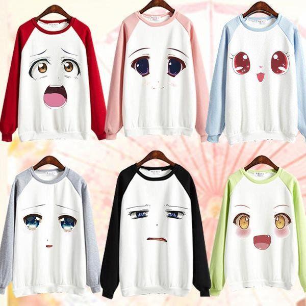 Anime Girl Emoji Jumper SP167972