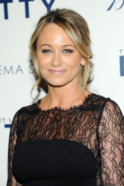 Christine Taylor at the screening of 'The Secret Life of Walter Mitty' at the MoMA in NYC. Hair by Rebekah Forecast. Makeup by Cyndle Komarovski.