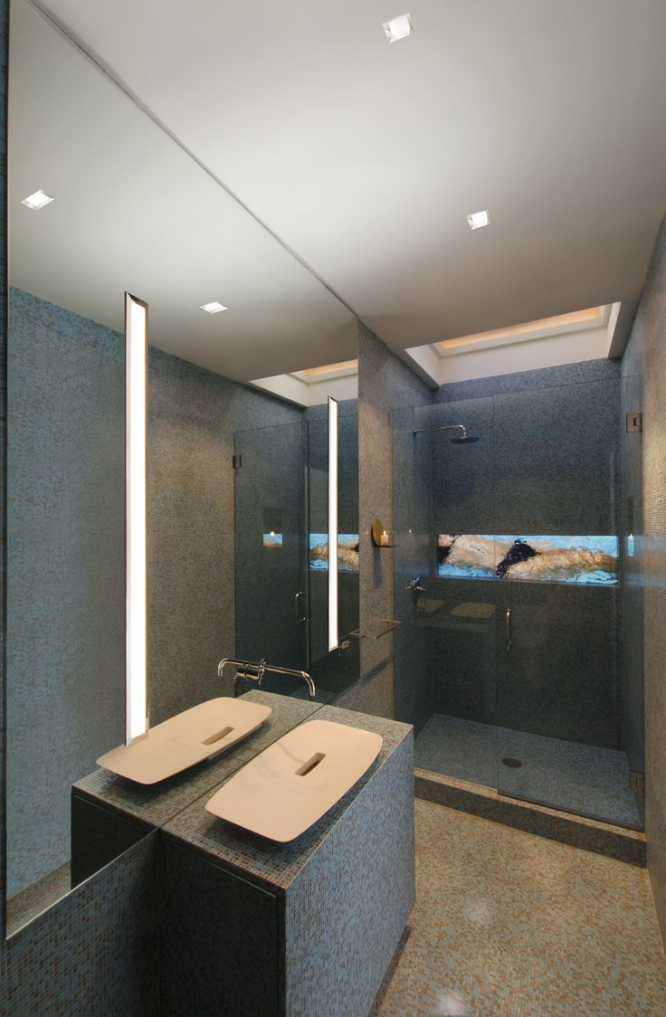 Fas Built Floating Radiused Under Lit Sauna Benches: 1000+ Images About PURE LIGHTING: Bathroom On Pinterest