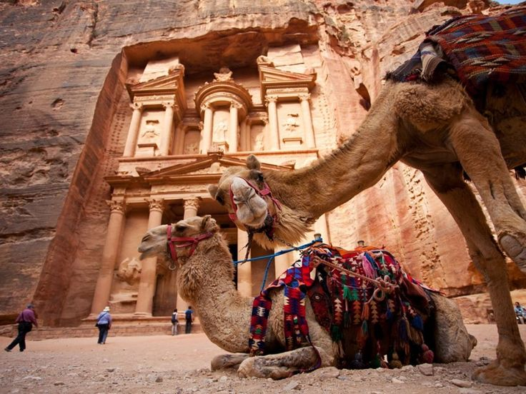 Petra è un sito archeologico posto circa 250 km a Sud di Amman, la