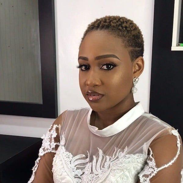 47 Wedding Hairstyles For Black Women To Drool Over 2019 Be Trendsetter Short Hair Bride Short Wedding Hair Bride Hairstyles