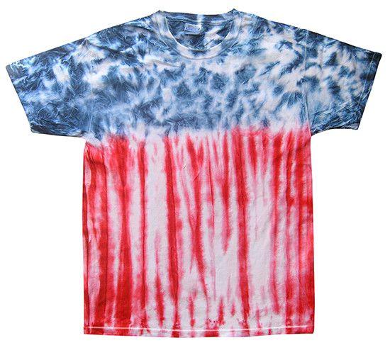 Flag Tie Dye