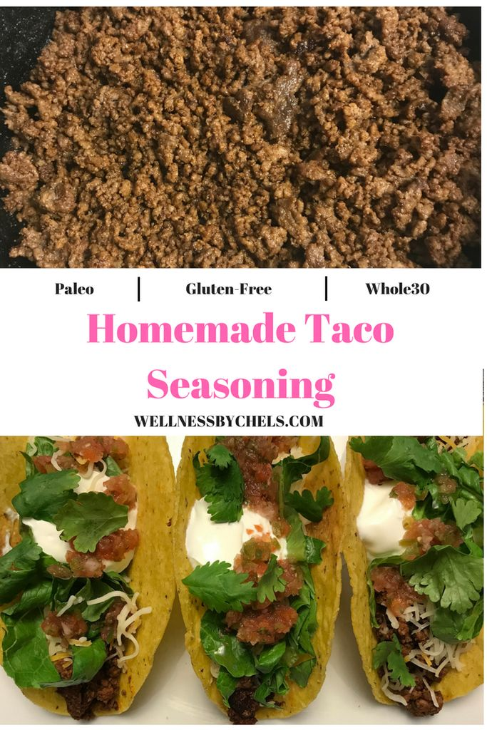 How to make Homemade Taco Seasoning that is Paleo, Gluten-Free, and Whole30 approved