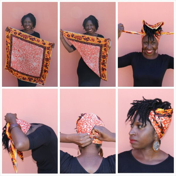 hair scarf for natural kinky black women