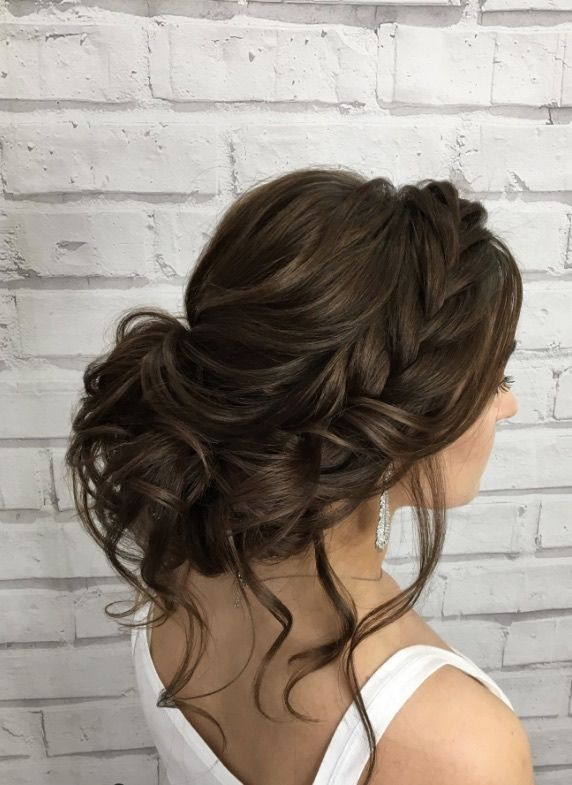 Featured Hairstyle: Elstile (El Style); www.elstile.ru; Wedding hairstyle idea. …