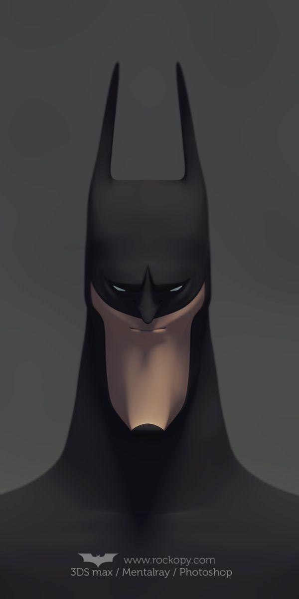 Batman fanart by rockopy demente, via Behance