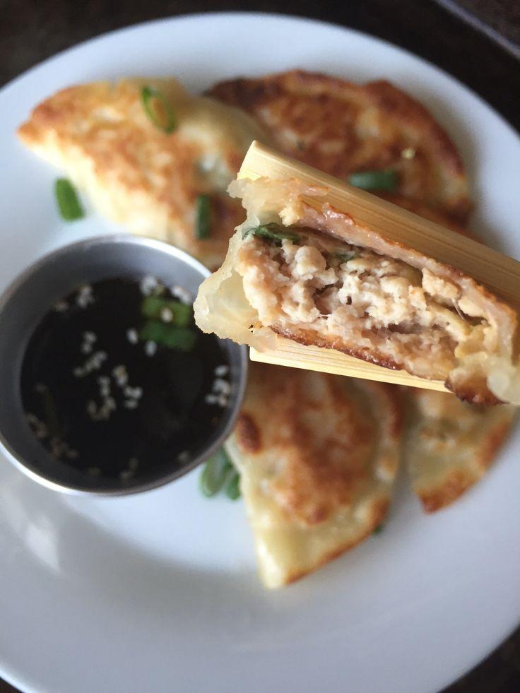Chicken Potstickers/ Goyza / Dumplings