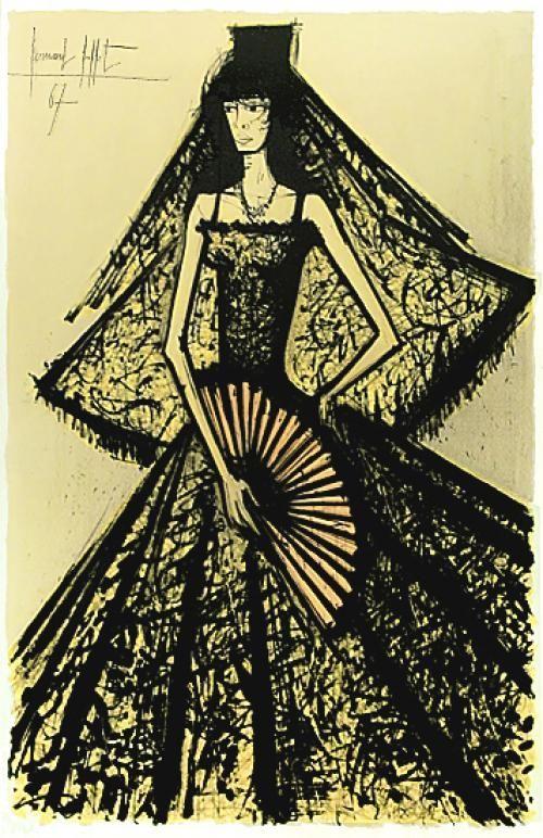 Carmen, 1967 by Bernard Buffet (French 1928-1999)