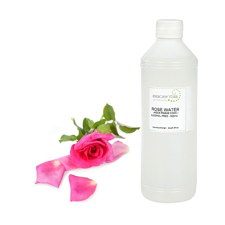 Escentia Rose Floral Water is hydrating and calming with the beautiful scent of roses. Ideal as a perfume, toner, make up remover and skin refresher.