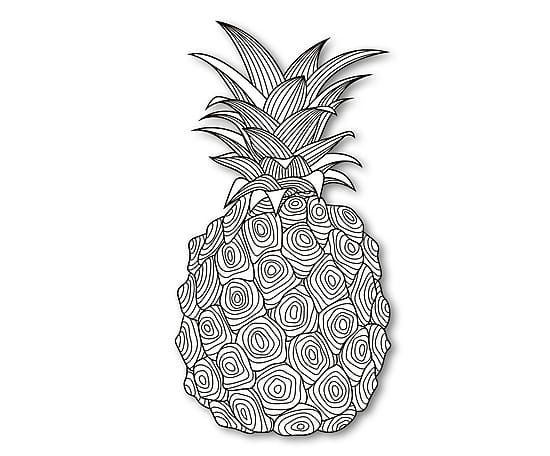 2 june coloring pages pineapple planners alice pine apple colouring pages printable coloring pages coloring books - June Coloring Pages