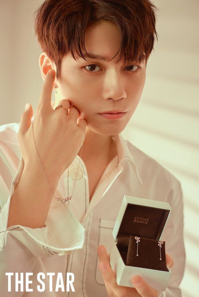 Ong Seongwoo X The Star