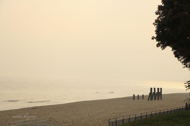 Gdynia, Orłowo, beach