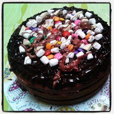 Chocoadicto cake nude