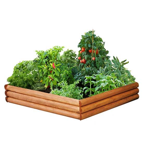 These lovely DIY raised-garden kits are easy to build and pretty to display in your yard. Whether you want to work in your garden without having to bend over or are trying to keep pesky critters from eating your produce, you need to check out these awesome options. Whether you want fenced in, fun shaped, wood, or wicker garden beds, there are incredible ideas for everyone. There's even one with a built-in irrigation system!