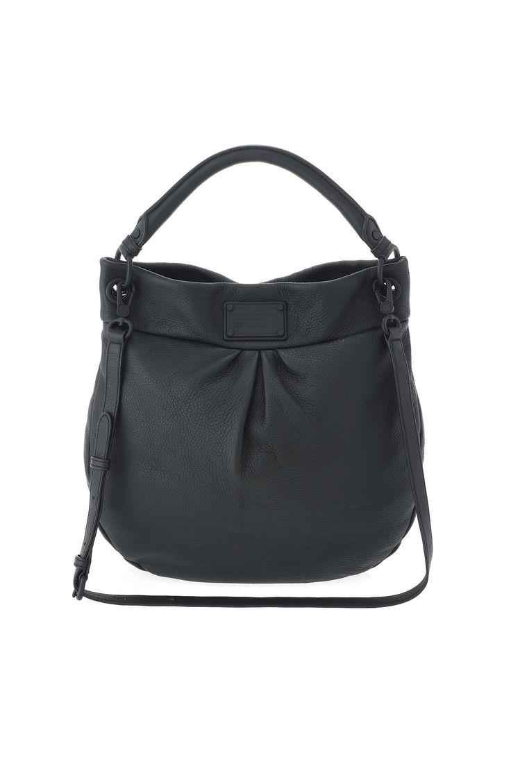 Marc by Marc Jacobs Electro Q Hillier Hobo in Black - the Classic Q gets an