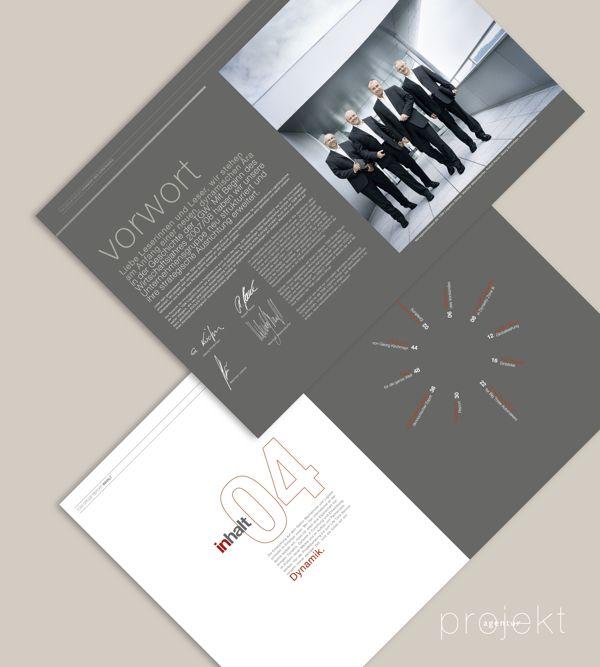 Agency: Projektagentur Weixelbaumer, Linz, Austria, Client: TGW Logistics Group GmbH, Project: annual report of 2007