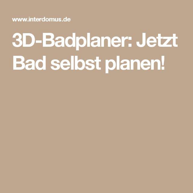Top 25+ best Badplaner 3d ideas on Pinterest Bad online