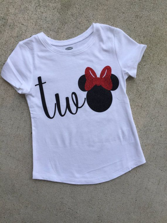 09b4e9288 two Minnie mouse birthday shirt - two tee - baby's second birthday - Minnie  mouse birthday - happy birthday shirt - TWO - two tee - HBD | 2nd birthday  party ...