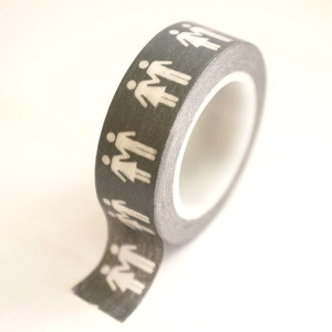 $3.50 at paper-addict.com Potty People His / Hers washi