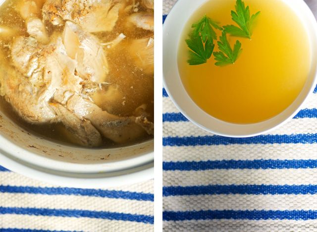 slow cooker bone broth