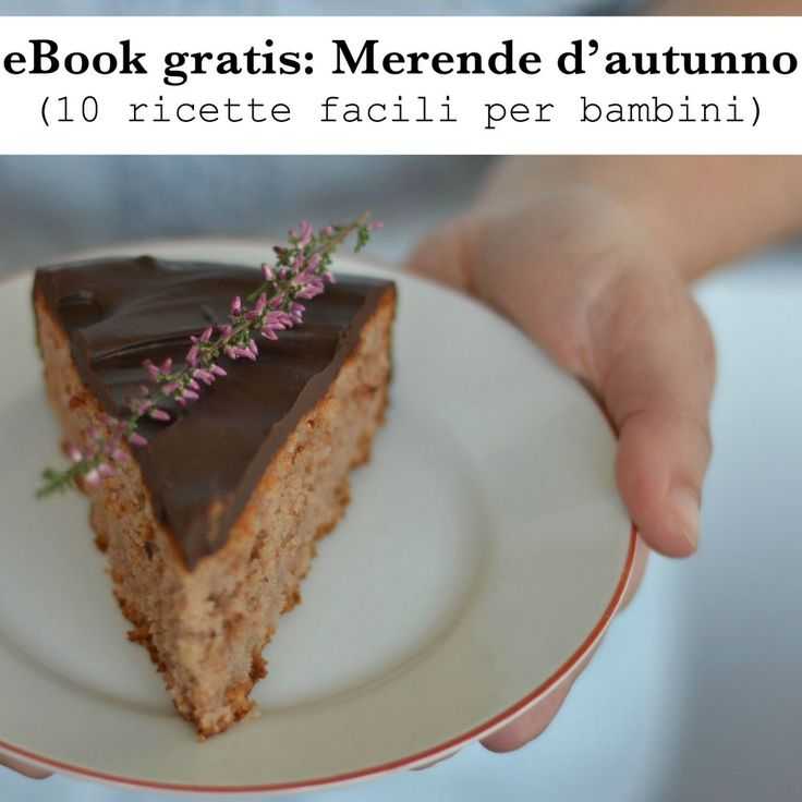 eBook gratis: Merende per bambini (10 ricette per l'autunno)