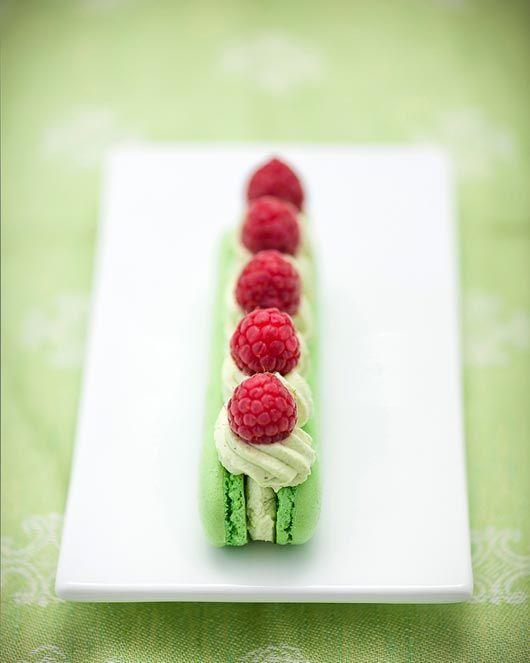 pistache & framboise