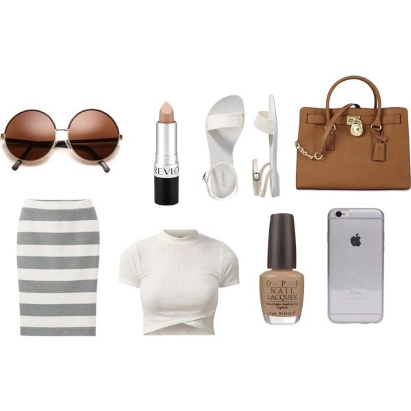 Untitled #8 by brooke-stewart98 on Polyvore featuring Uniqlo, Old Navy, Michael Kors, Revlon and OPI
