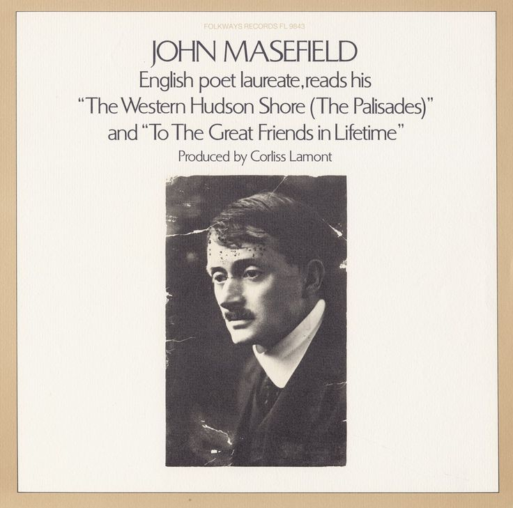 John Masefield - John Masefield Reads His Poetry