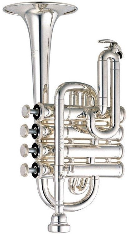 An ideal piccolo trumpet with exceptional tone and response. Piccolo trumpets are primarily used to play the exciting, yet demanding, 1st trumpet parts in Baroque literature. The 6810S features a smal
