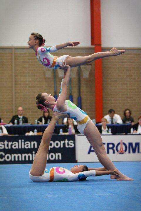acro gymnastics trio | Back to Album