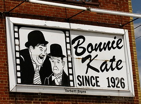 Bonnie Kate Theatre is an icon of downtown Elizabethton. Known for its rocking chairs and having only two screens, the theater has been showing films for as long as I can remember. On the other hand, the café, located adjacent to the lobby, is rather new.  The dining room has a warm bistro feel, making it an ideal place for breakfast or lunch, which is all they serve, except for the upscale dinner on Friday evenings. I was told that they may be opening Saturday nights soon.