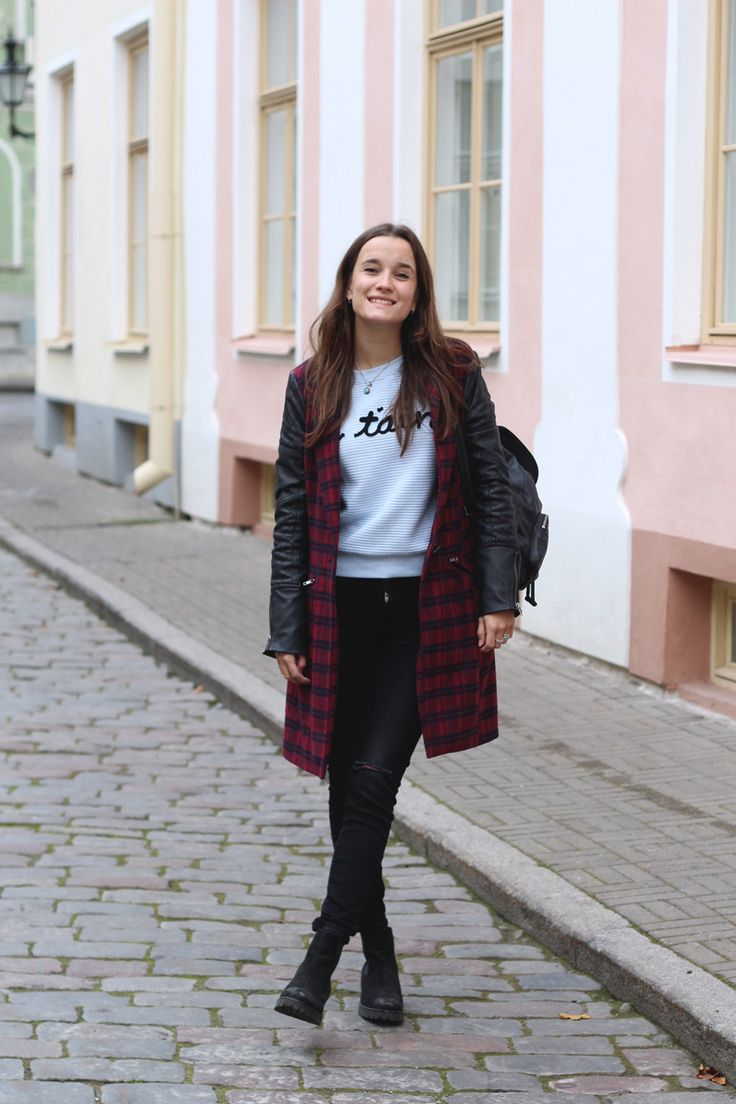 Fashiable, outfit, fashion, blogger, Boohoo jacket, New Yorker sweater, ZARA jeans