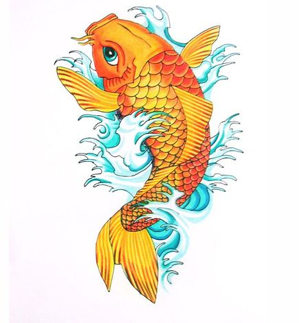 7 best crazy tattoos images on pinterest my life tattoo for Koi fish lifespan