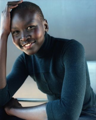 alek wek is a South Sudanese British model and designer who began her fashion career at the age of 18 in 1995.